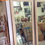 gương soi toàn thân gỗ sồi bắc mỹ 01