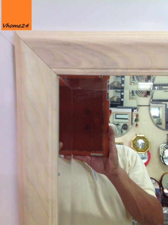 gương soi toàn thân gỗ sồi bắc mỹ 02