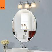 Gương vệ sinh oval trơn 02
