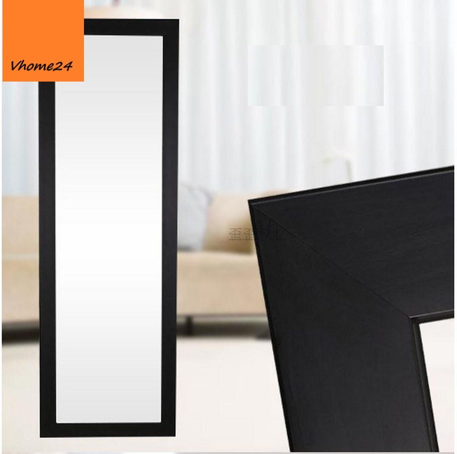 Gương soi toàn thân khung đen tối giản 02
