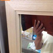 Gương soi toàn thân khung gỗ sồi
