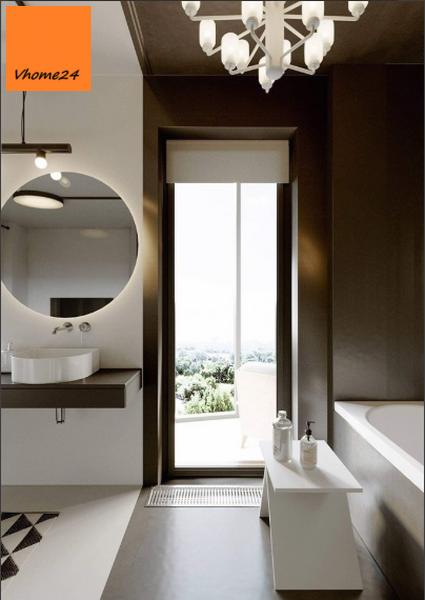 Gương led hắt tròn nhà tắm (Copy)