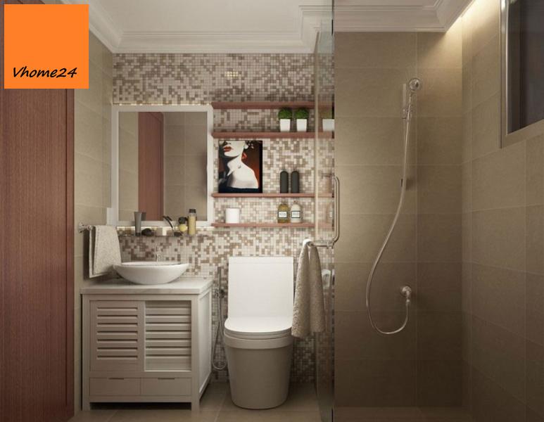 Gương nhà tắm viền trắng (Copy)